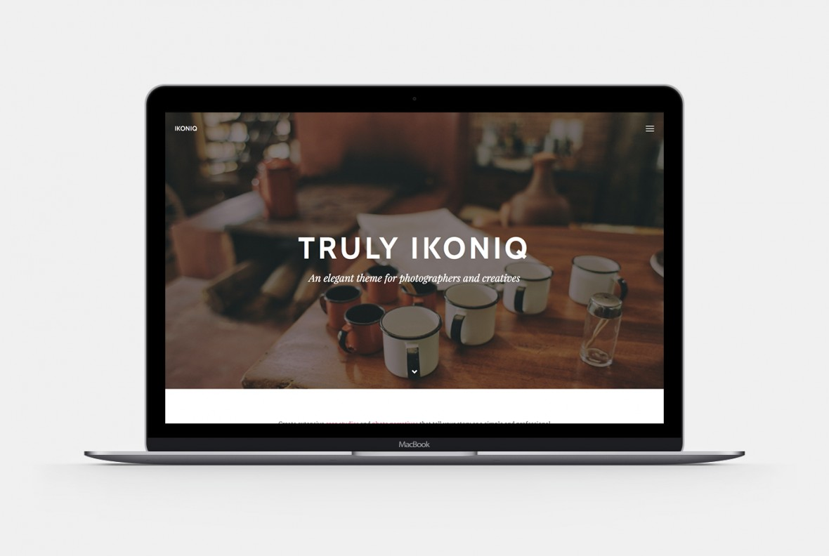 Ikoniq WordPress Theme