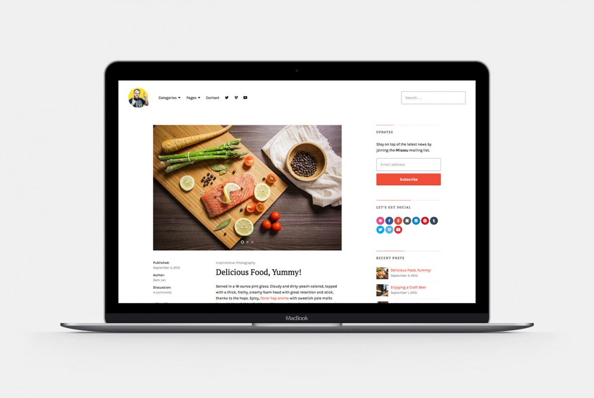 Maxxis WordPress Theme